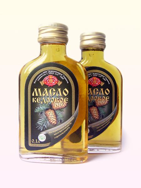 Siberian pine nuts oil