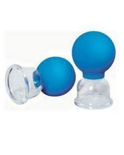 Set of 2  for body vacuum massage cupping-glass