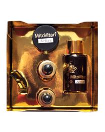 Aging Intervention MitoVitan Activ SkQ1 set  10 ml  serum Skulachev ions anti-aging effect