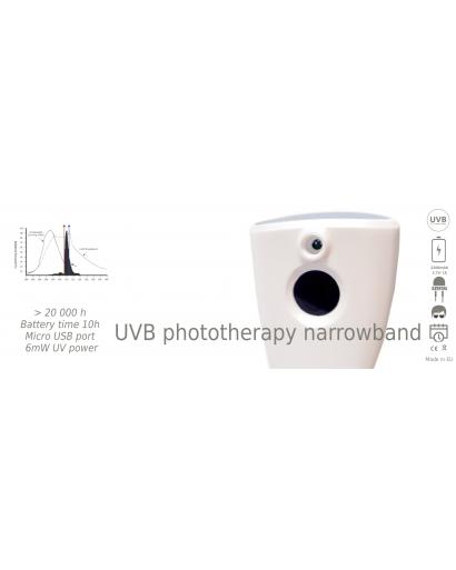 Dermalight LED lamp for vitiligo psoriasis cure 311 mn narrowbang portable Shipping from EU