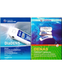 Set of 2 books Denas manual therapy book and DiaDens manual New English
