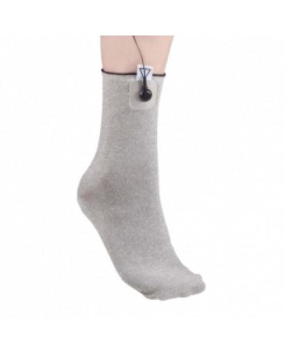 SCENAR conductive sock electrode