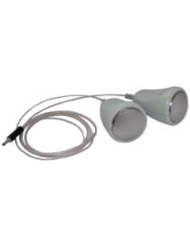 SCENAR paravertebral pawns  electrode double bell