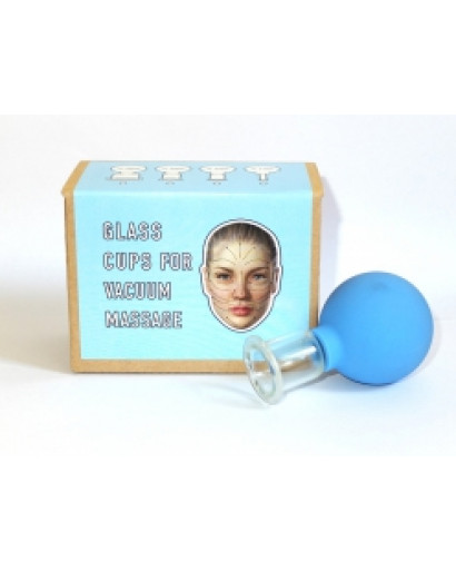 One vacuum facial massage cup #2 diam 33 mm 1.3 in