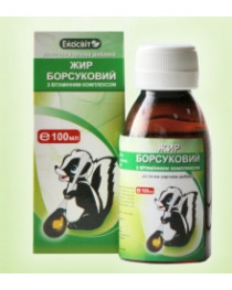 Beadger fat/oil 50 ml Siberian Russian 100% natural