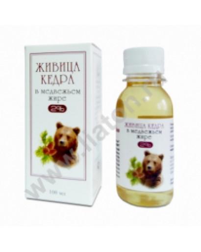 Bear fat /oil  with resin 100 ml Siberian Russian 100% natural