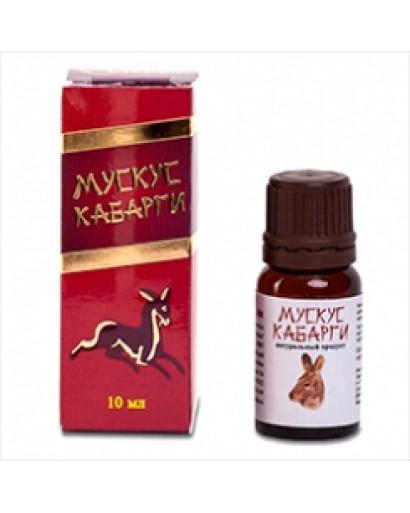 Kabarga (Siberian Musk Deer) muck tincture 10% aphrodisiac perfume potency 10 ml Russia