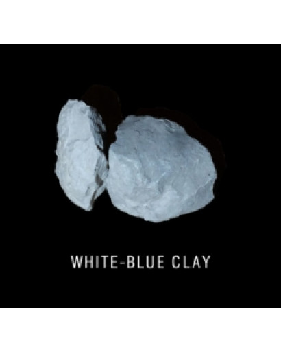 White-blue clay ,5 kg ( 1,1 lb)  edible for detox and scin care