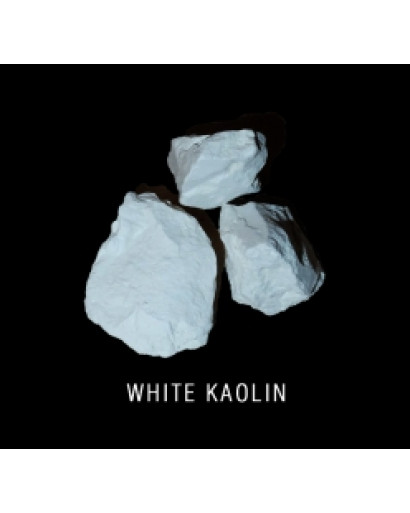 White kaolin 0,5 kg ( 1,1 lb) edible for detox and scin care