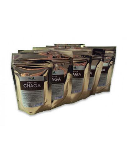 Freeze dried   Wild siberian CHAGA mushroom extract 1000 gram 2,2 lb cancer tumor  57% of chromogenic complex.