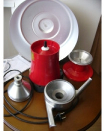 Separator electric centrifugal 80l/h
