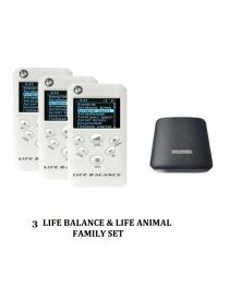 Life Balance Webwellness device detox control of parasites- set of 3 devices + Life Animal Express shipping