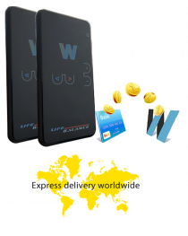 Set of 2 Life balance 2.0  - new version portable device for bioresonance therapy Delivery by express mail 7 days