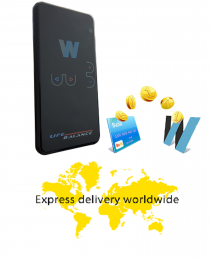 Life balance 2.0  - new version portable device for bioresonance therapy Delivery by express mail 7 days