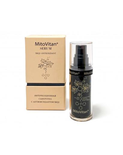 MitoVitan SKQ-1 serum Skulachev ions 30 ml anti-aging effect