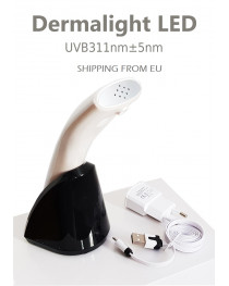 Dermalight LED lamp for vitiligo psoriasis cure 311 mn narrowbang portable Shipping from EU