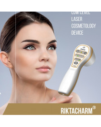 Rikta Sharm laser Beauty  Cosmetology device  LLL IR  Red Blue Light TENS magnetic fields  skin hair nails treatment