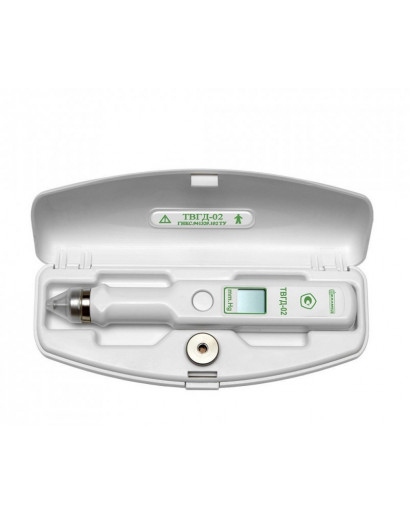 EASYTON TGVD 02  IOP tonometer true IOP measurement mode (Goldmann tonometer scale).