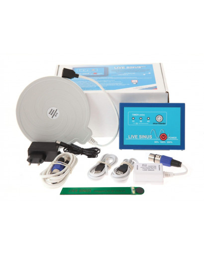 Live Sinus Set # 2 ECONOMY LIVE SINUS 5 with universal (3 in 1) Mishin coil