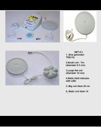 Set  № 2 Mishin Coils Kit: TGS-7A  generator + Static coil + Large coil