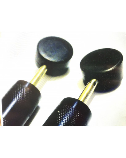 Remote shungite tablets electrode with handle for scenar cosmodic devices
