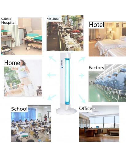 Germicidal UV lamp anti virus bacteria disinfection sterilizing ozone free 220V