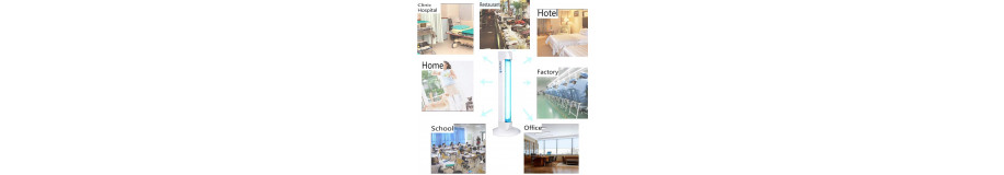 Germicidal  UV lamp for dsisinfection kill viruses bacteria fungi