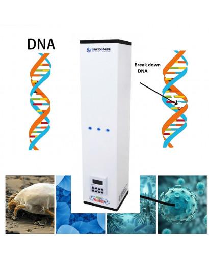 Bactericidal recirculator Germicidal 3 lamp UV anti virus sterilizing OZONE FREE