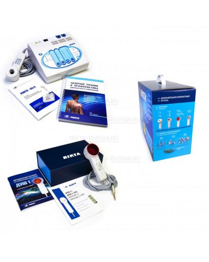 Rikta 04/4  Low Level Laser therapy  UNIVERASAL set osteochondrosis, atherosclerosis, broncho-pulmonary diseases