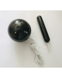 SCENAR  electrode shungite   ball 10 cm diameter  and  cylinder  KIT #5