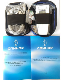 Spinor CEM TECH  AK TOM device EHF-IR therapy  Premium set - 5 oscillators+ case + card as GIFT