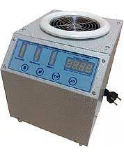 Portable halo generator for halo salt therapy room