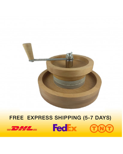 Household stone granite mill flour grain seed spices grinder FEDEX delivery FREE