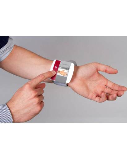 Neurodens Cardio device for blood pressure correction • the risk of developing complications of hypertension is reduced