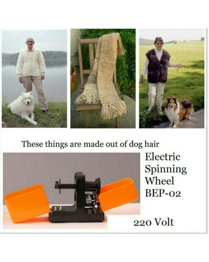 Electric spinning wheel mod#1