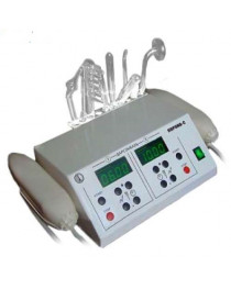 VIOLET RAY PROFESSIONAL HIGH FREQUENCY + Ultraton  unit with  2 WAND FOR SPA SALON -  10 electrodes in the set
