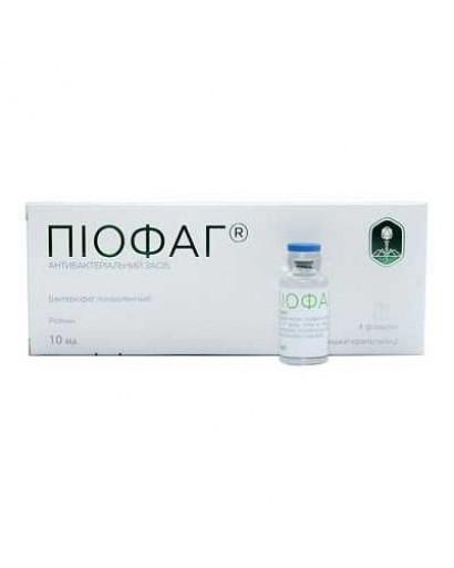 Pyofag phage therapy 4 vial  *20 ml