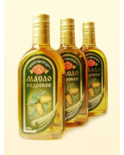 Siberian Pine nut oil cold pressed kosher organic 3 bottles per 350ml 12oz
