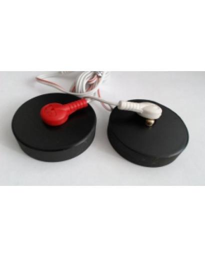 SCENAR Shungite remote pancake electrodes    mod. 4