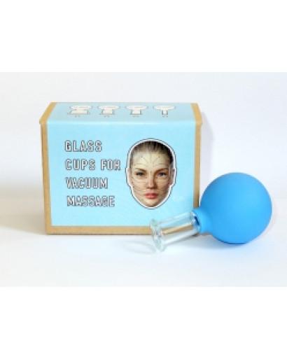 One vacuum facial massage cup #3 diam 20mm 0.78in