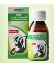Beadger fat/oil 50 ml Siberian Russian 100% natural