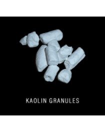 Kaolin clay granules edible for detox and scin care 0,5 kg (1.1 lb)