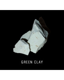 Green clay 0,5 kg ( 1,1 lb)  edible for detox and scin care 0,5 kg (1.1 lb)