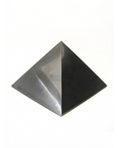 100*100mm SHUNGITE POLISHED PYRAMID