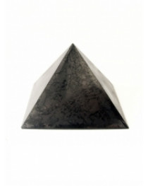 60*60mm SHUNGITE POLISHED PYRAMID