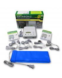 Vitafon-2 home  vibroacustic  therapy device  Professional  extended  set with mattress